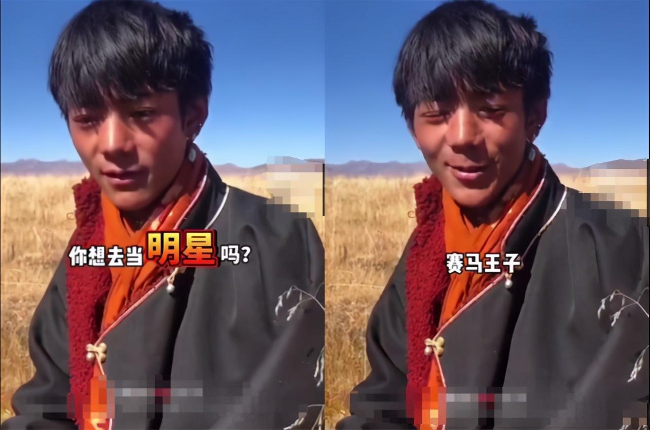 抖音火爆全网的藏族小伙丁真签约国企,氛围男孩会火起来吗?