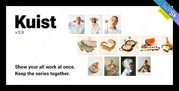 Kuist – 简洁极小的摄影系列作品展示 WordPress主题(已汉化)