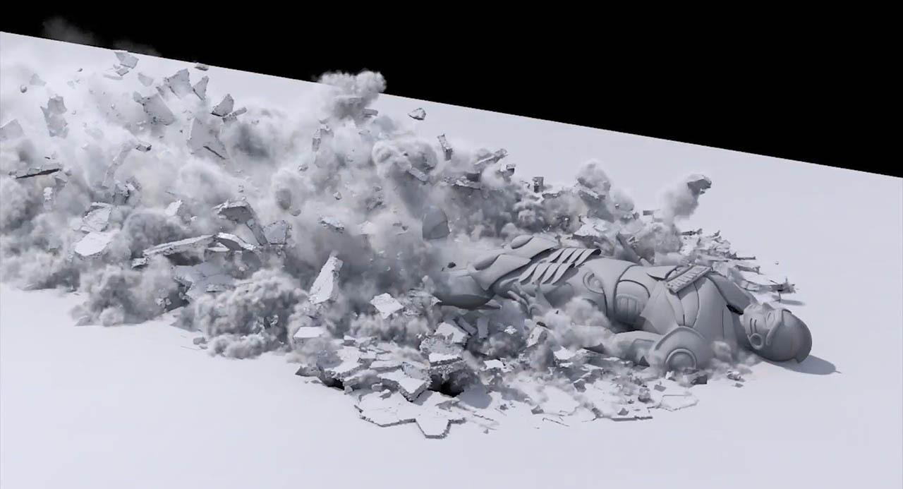 Ground breaking interaction with character effect in Houdini – CGCircuit