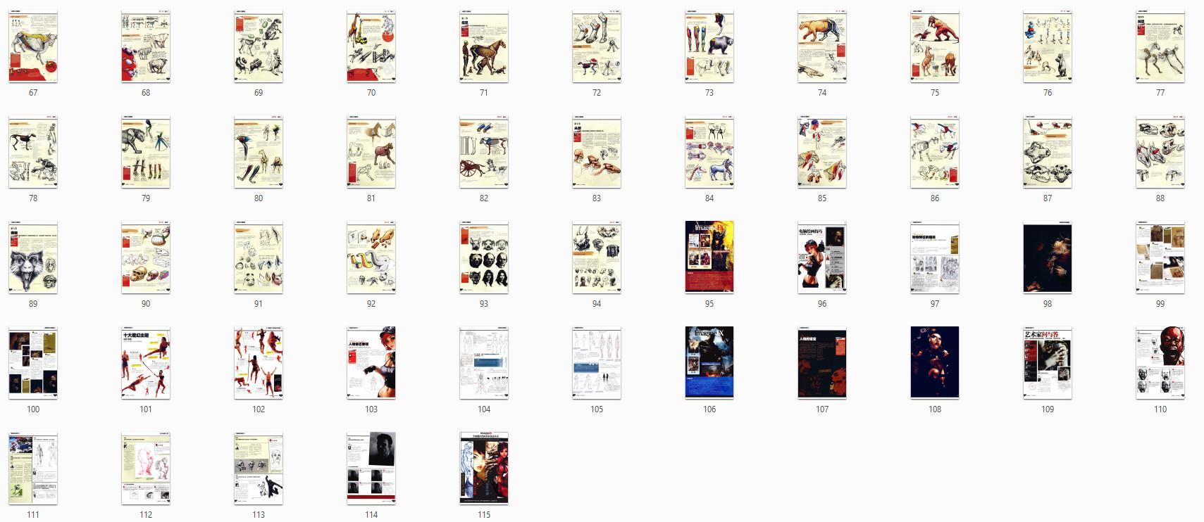 原画绘画教程-全球数位绘画名家技法丛书 人体与动物结构 PDF下载(5)