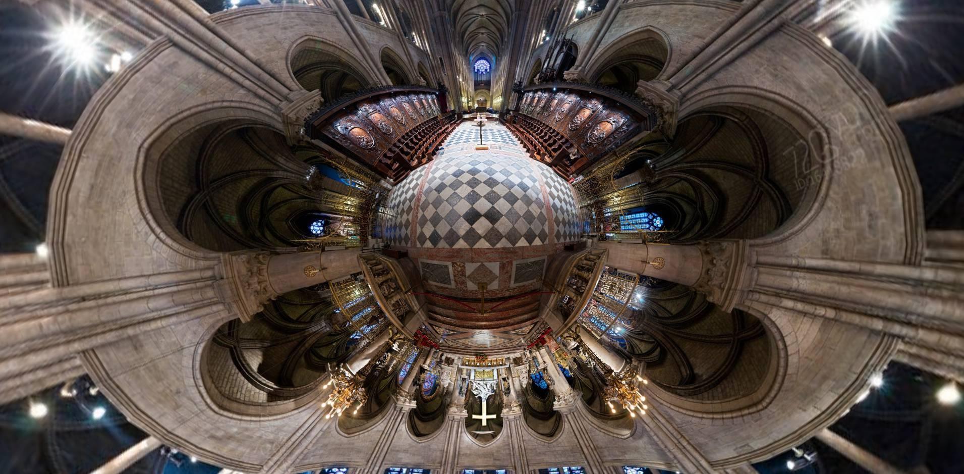 2个全景网站在线看巴黎圣母院!