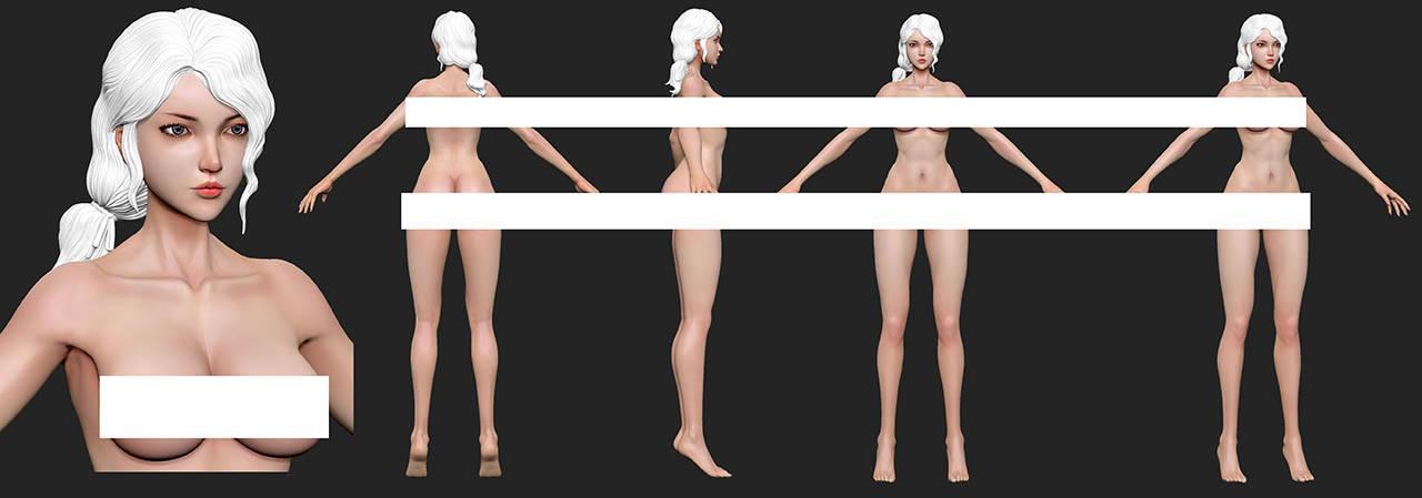 合金战姬 次世代游戏角色美型设计教程