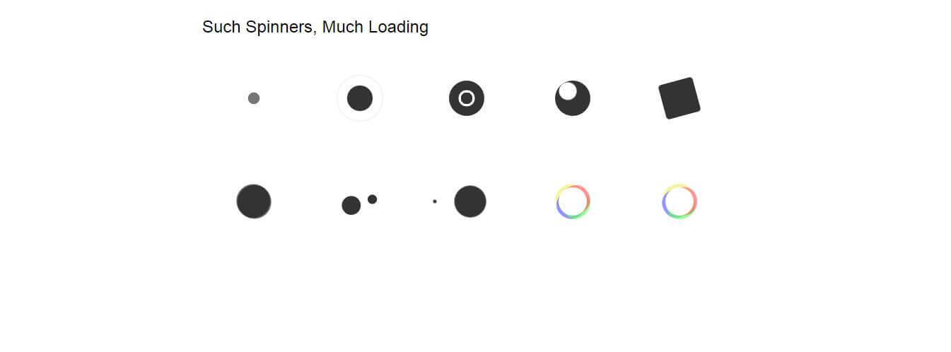 纯Css loading加载动画