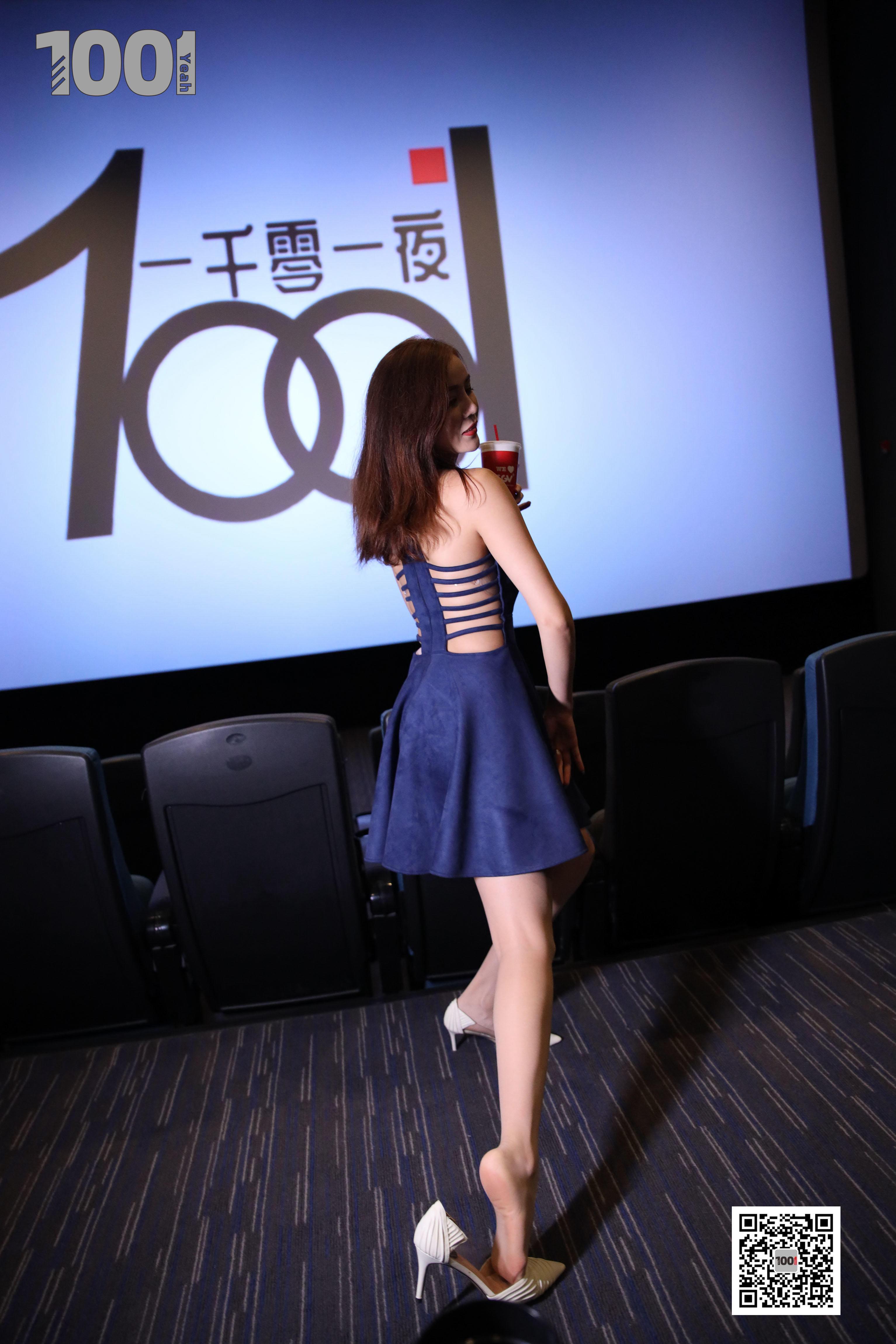 1001夜丝事 模特:Lucy 电影院1-蜜桃畅享