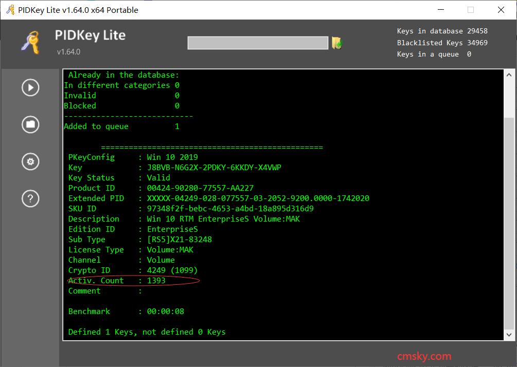 2020年6月 Windows 10 LTSC/LTSB 激活密钥