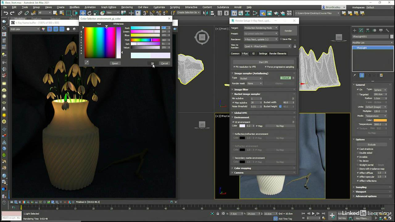 Introduction to Lights in V-Ray Next 3DS MAX Vray灯光渲染教程