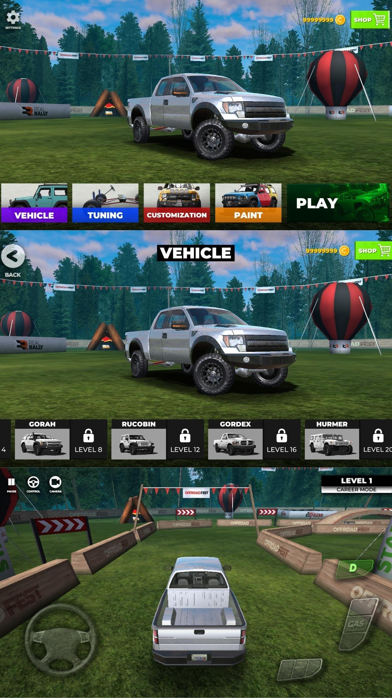 越野SUV模拟器优化版截图1