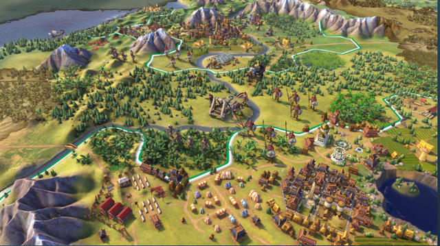 限时免费 Epic商城领取《文明6》