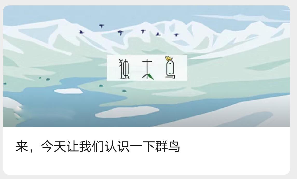 群鸟春招邀请函