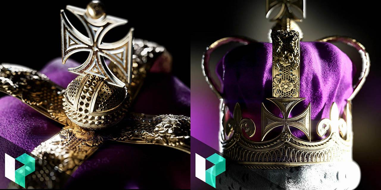 SD皇冠毛绒布料材质制作教程 Levelup Digital – Creating a Royal Crown in Substance Designer – Daniel Thiger