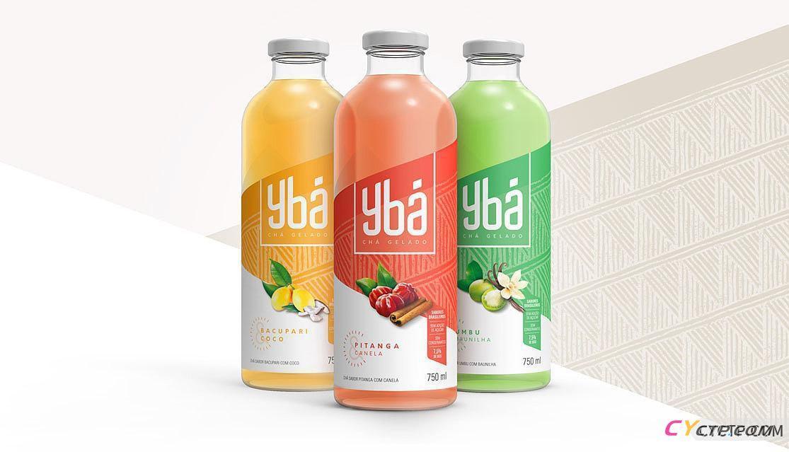   水果和茶包装设计 
