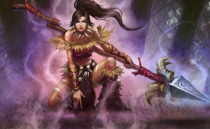英雄联盟狂野女猎手图片q版9张