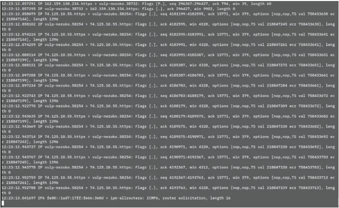 使用tcpdump查看原始数据包使用tcpdump查看原始数据包