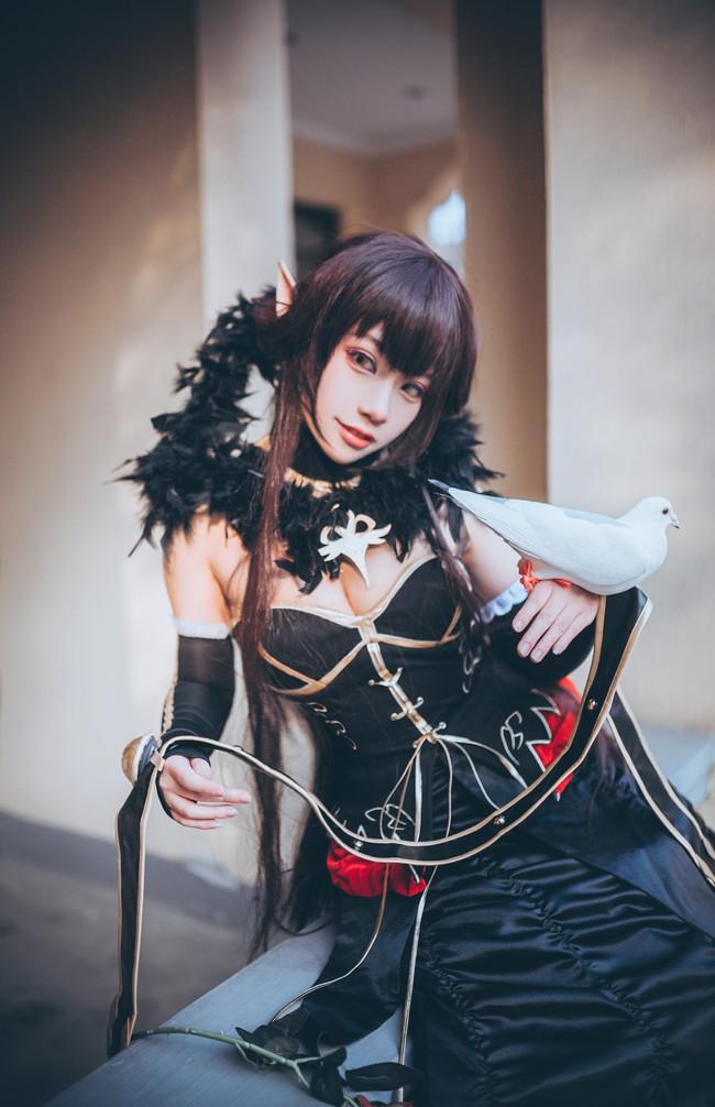 【Cosplay】女帝cos(赛米拉米斯)原作:Fate/Apocrypha角色:赛米拉米斯Cn:一隻白兔糖