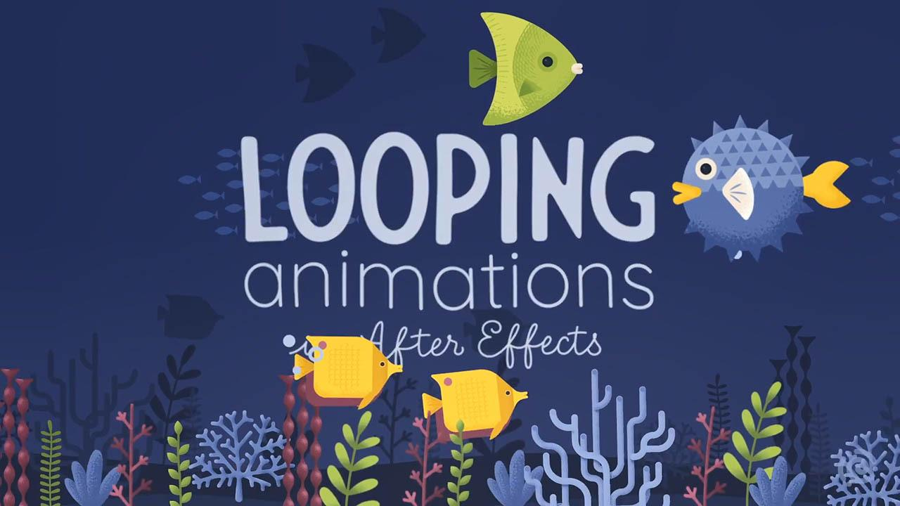Looping Animated Scenes in Adobe After Effects – Skillshare