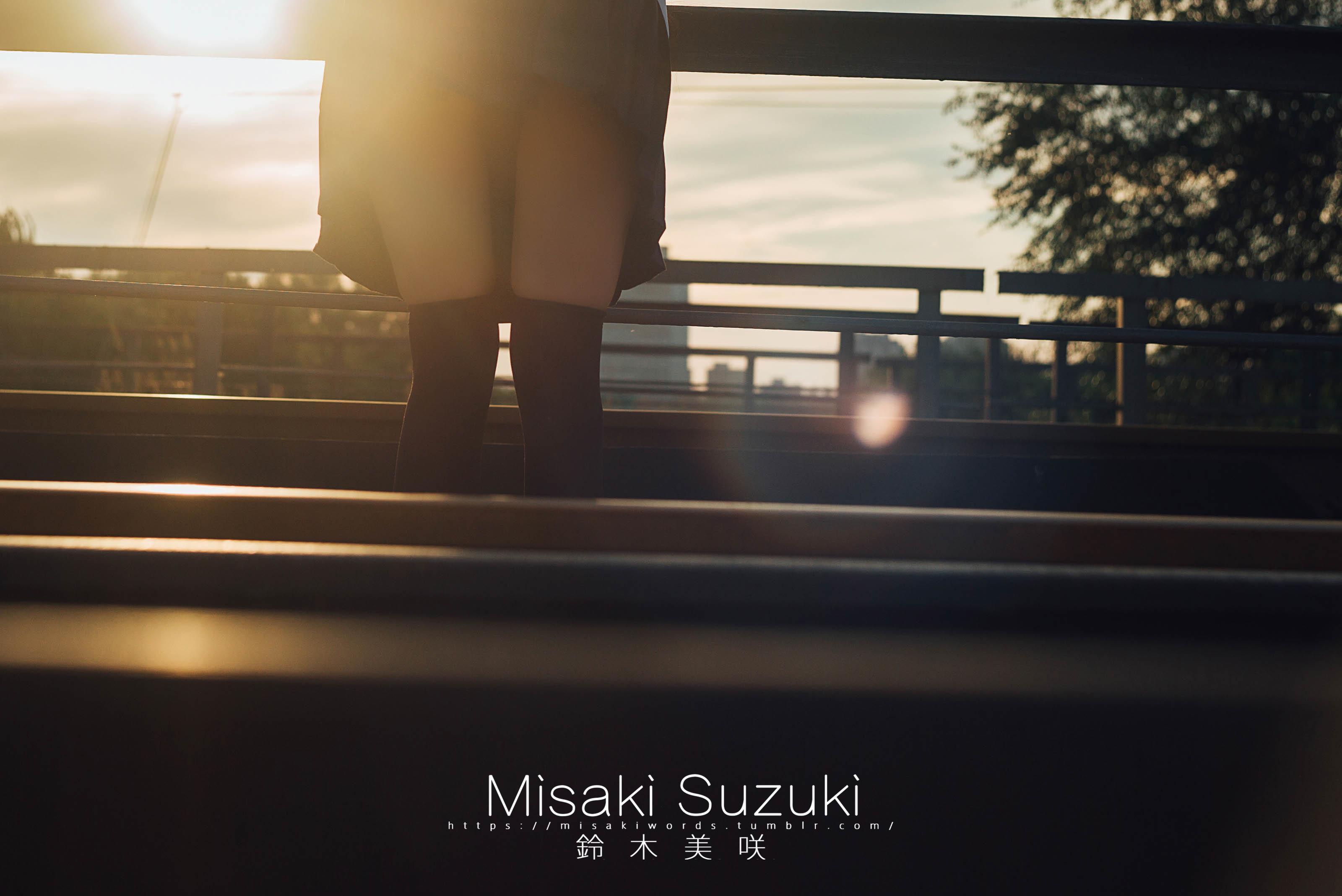铁道与少女-铃木美咲写真系列之铁道篇