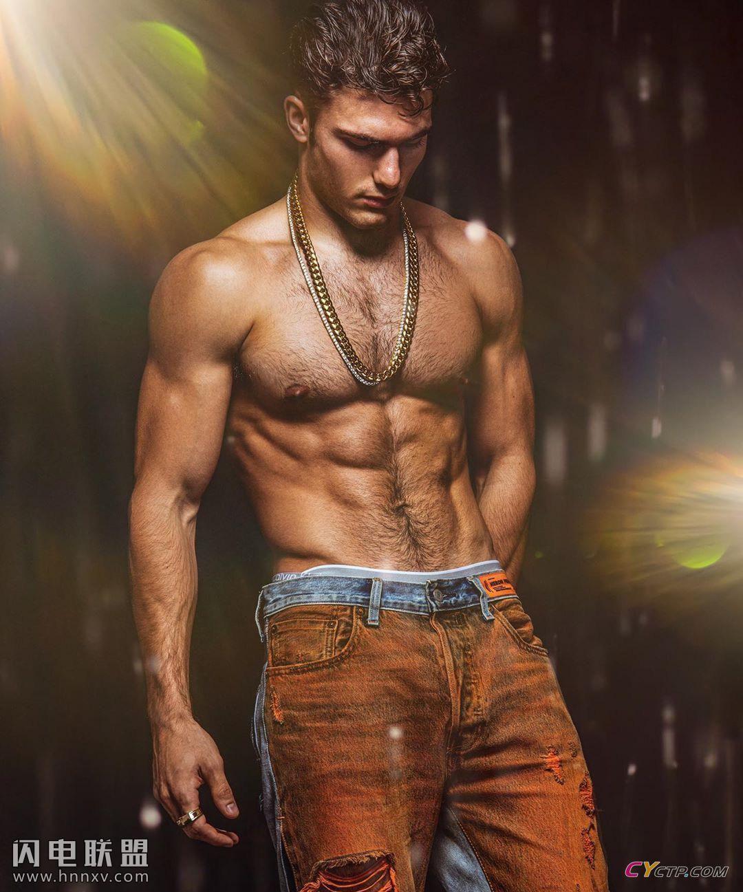 欧美性感肌肉男高清私房写真照片