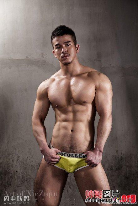 性感肌肉帅哥同志极致诱惑写真图片