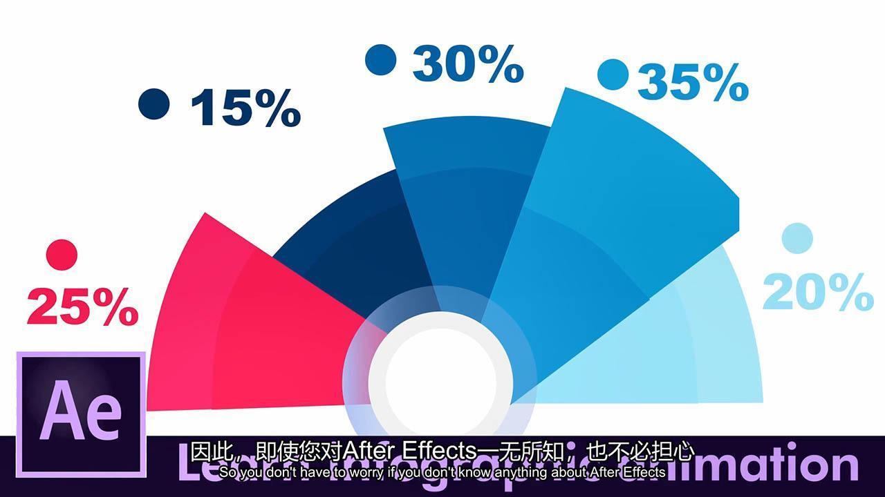 信息数据统计图表动画教程 After Effects Masterclass Learn Infographic Animations – Skillshare