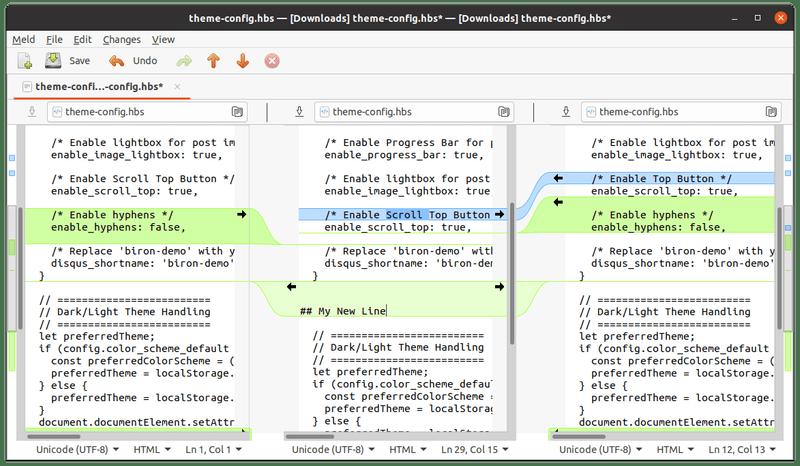 在 Linux 中用 Meld以图形方式比较文件和文件夹在 Linux 中用 Meld以图形方式比较文件和文件夹