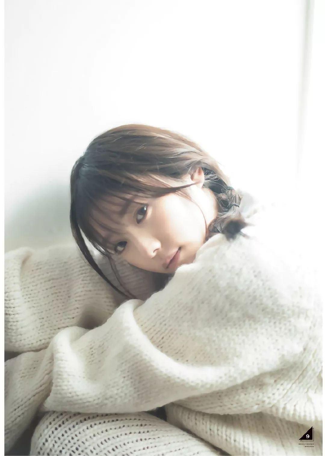 乃木坂46萌系女神与田祐希写真集「东京一人旅」