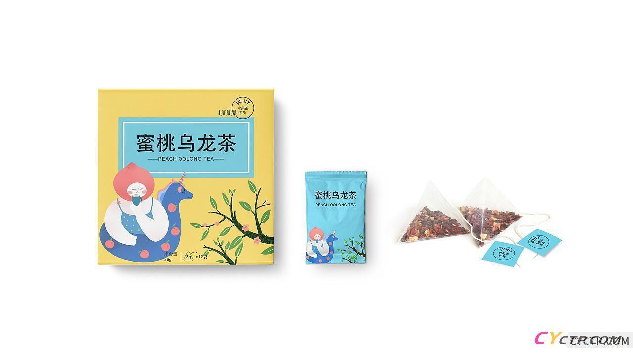 果茶包装设计
