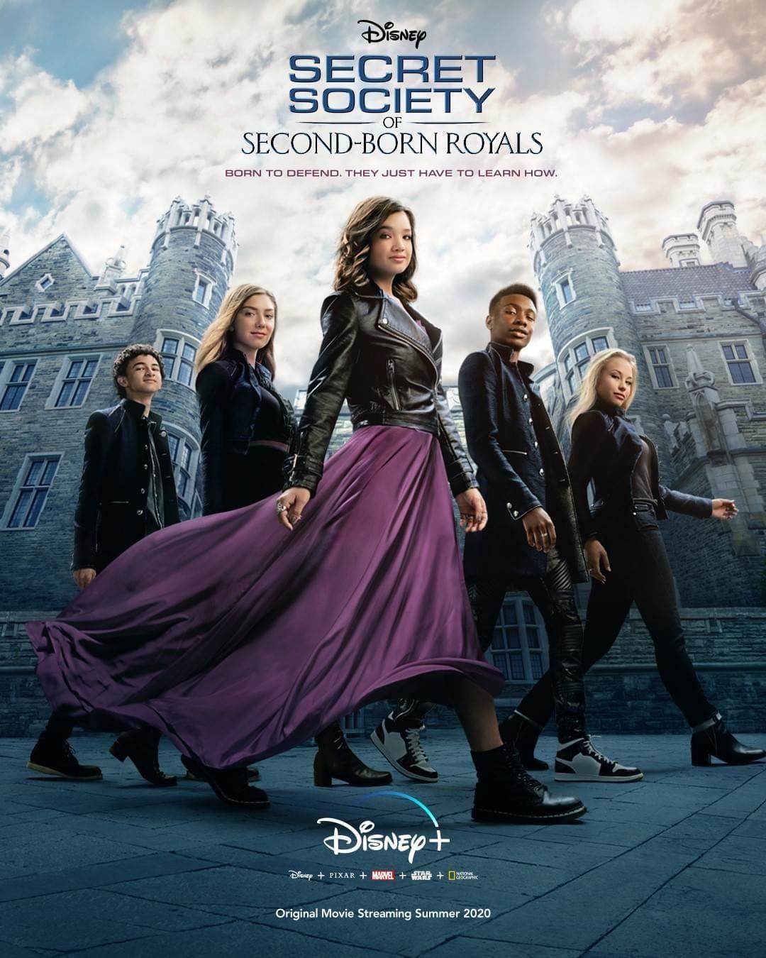 【皇室次子女秘密会社/Secret Society of Second-Born Royals】[WEB-HR][中英双字]