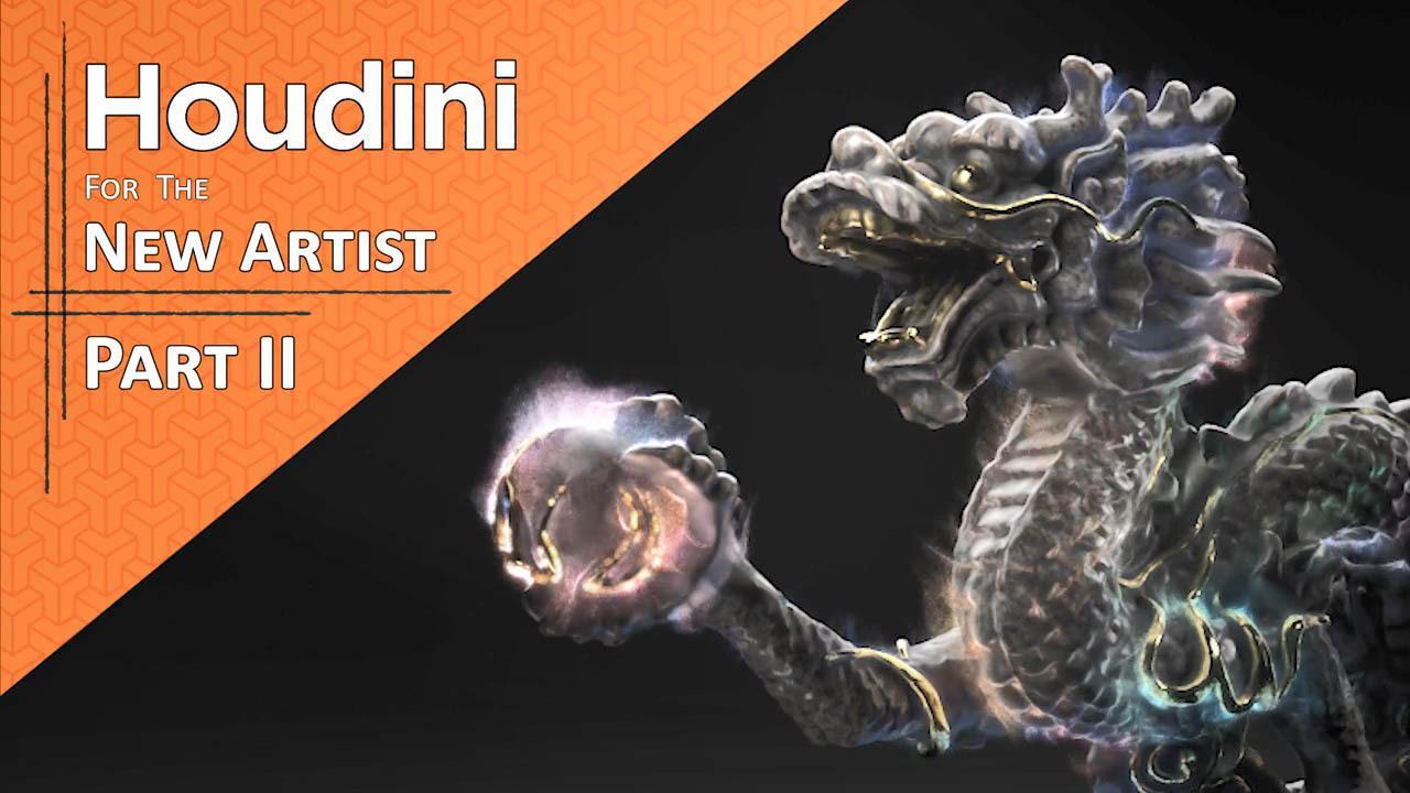 Houdini for the New Artist I & II - CG Forge - Tyler Bay