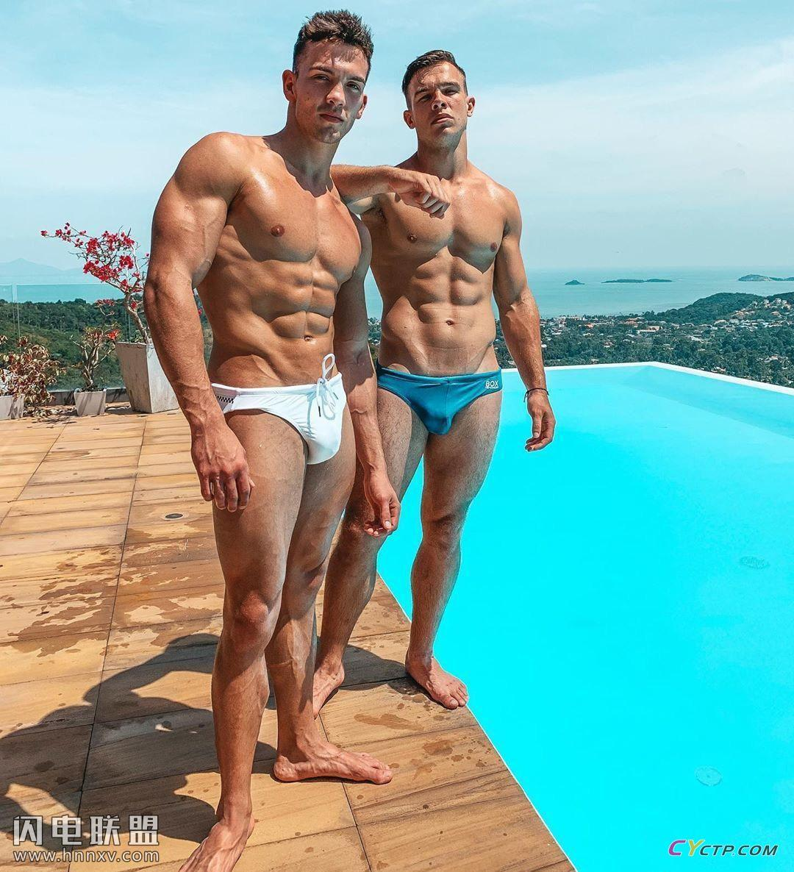 美国Gay男同阳光地带肌肉男模户外写真集第10张