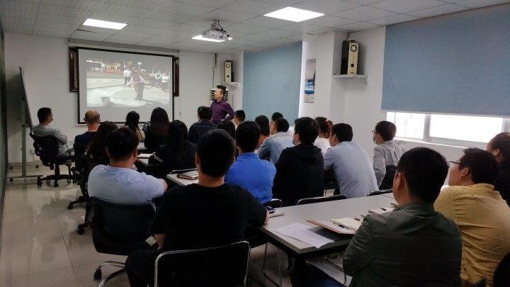 中建南方順利開展消防知識培訓及消防安全演練活動