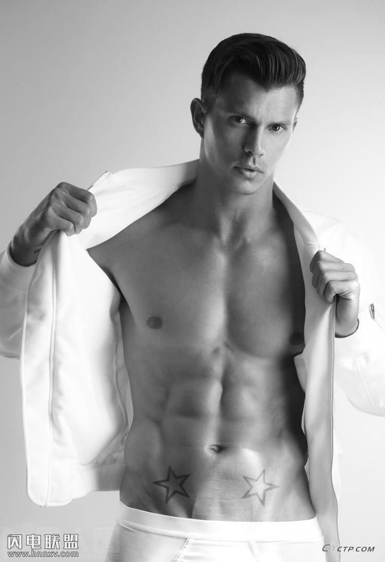 欧美帅哥同志性感肌肉腹肌写真图片