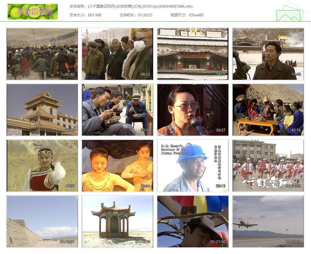 中国台湾最好的纪录片《八千里路云和月》全30集高清分享的图片-高老四博客