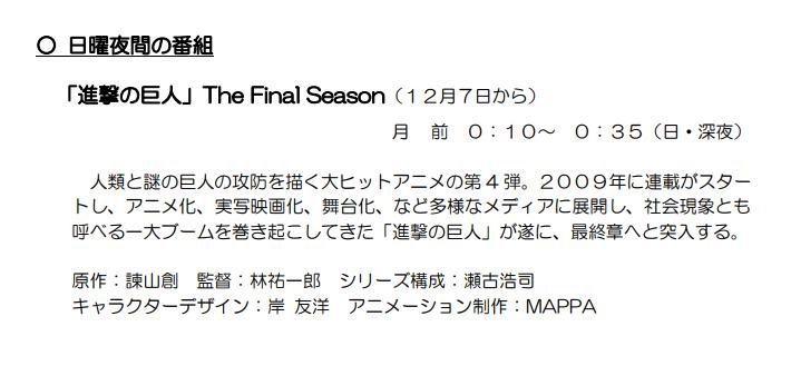 进击的巨人 The Final Season