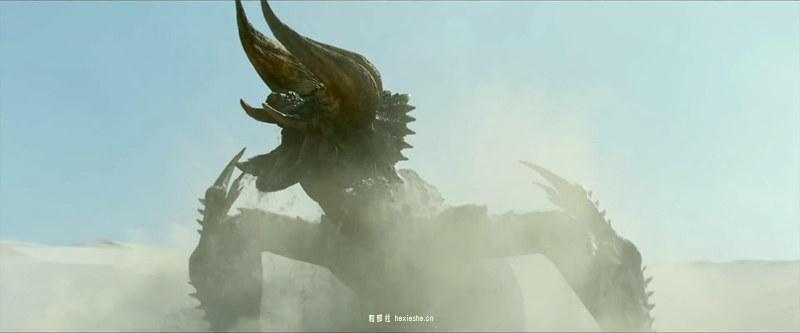 怪物猎人 真人电影 黑角龙