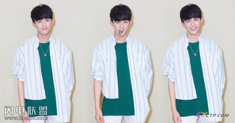国民弟弟吴磊阳光帅气时尚写真图片