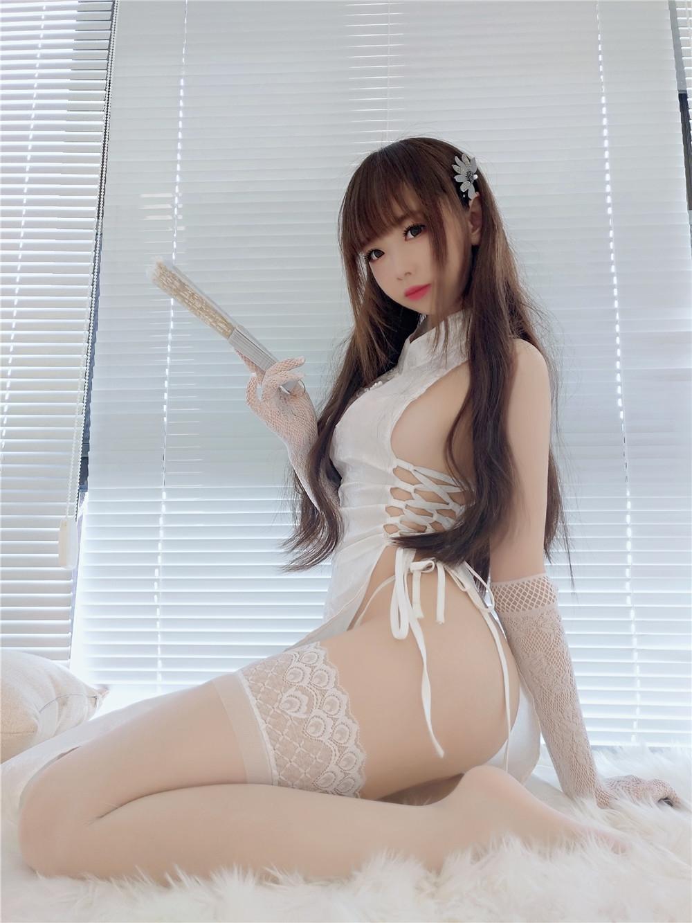 雪琪SAMA – 绑带旗袍私房写真作品[59P/357M]-觅爱图
