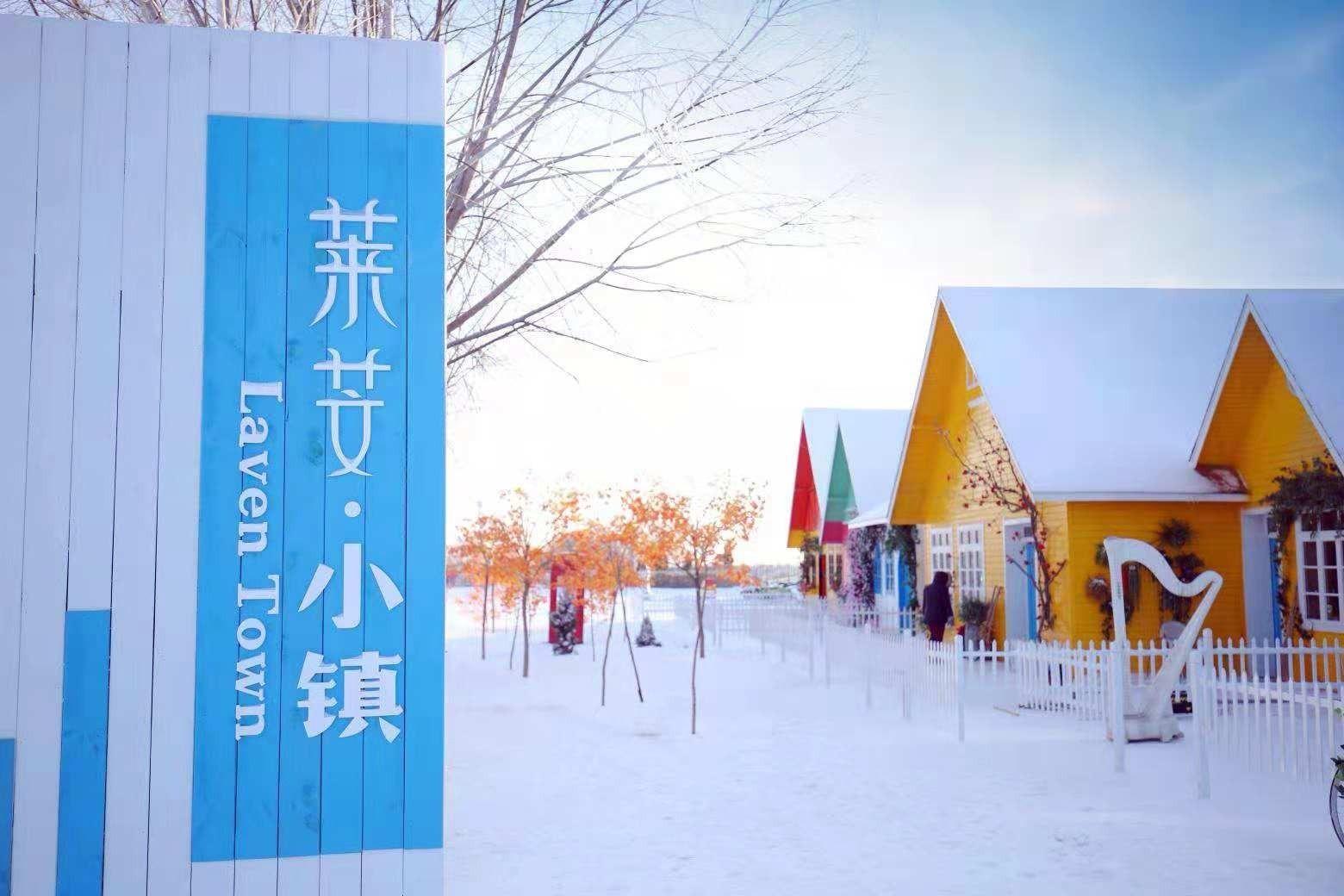 太原莱芠小镇雪王国