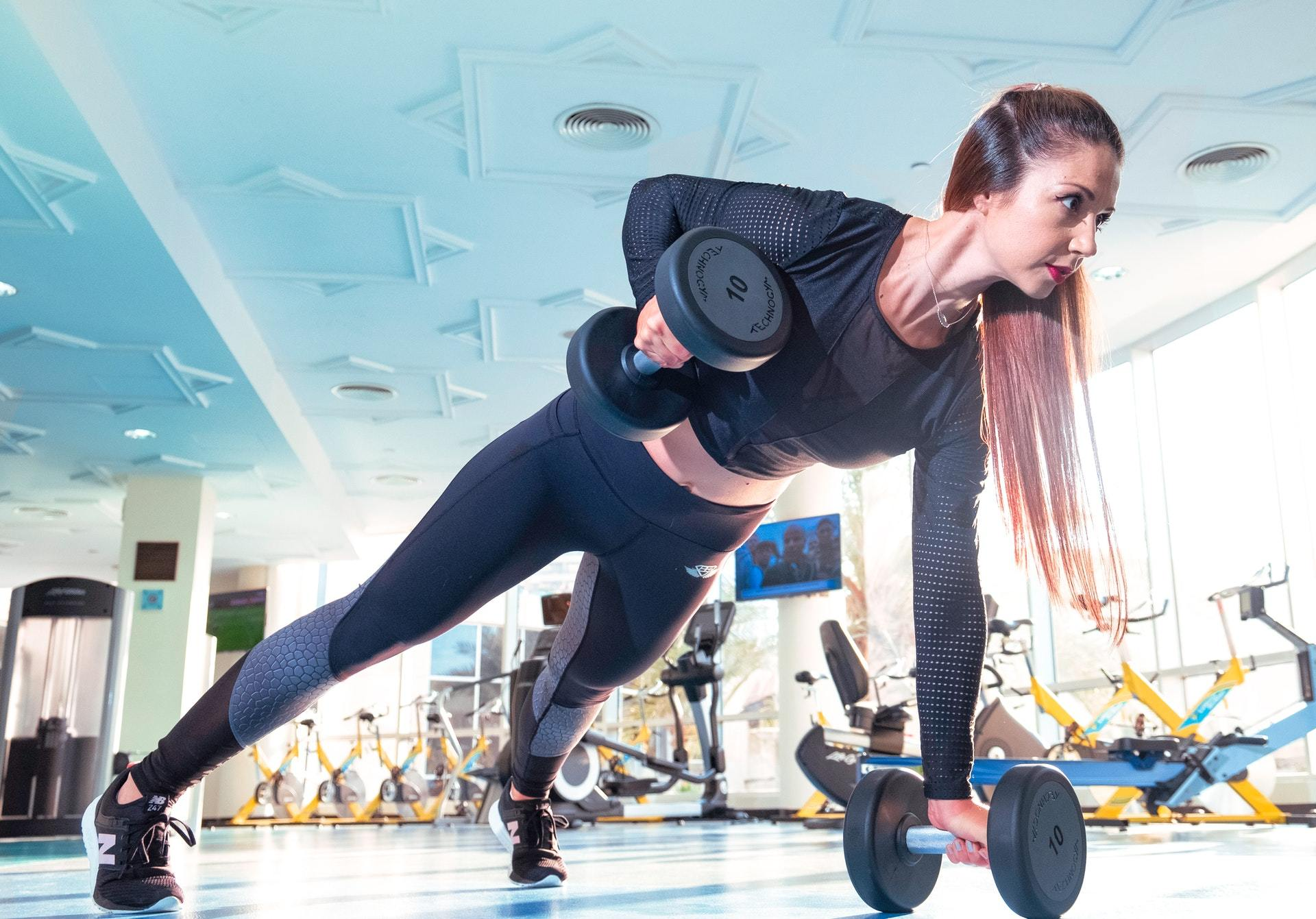 dumbbell fitness muscle building
