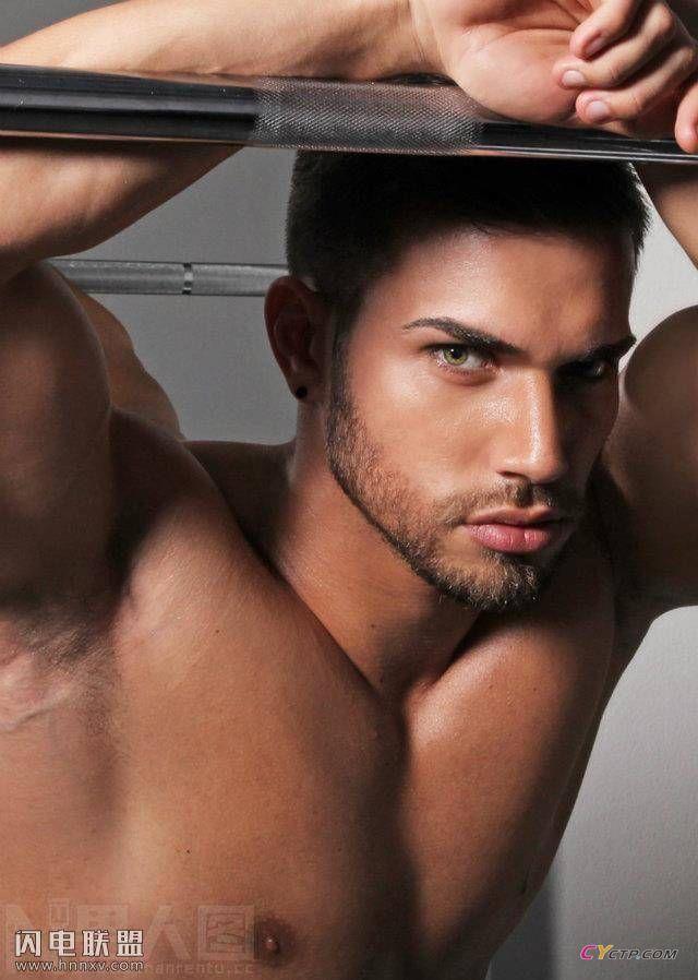 性感欧美肌肉型男发达胸肌腹肌写真图片