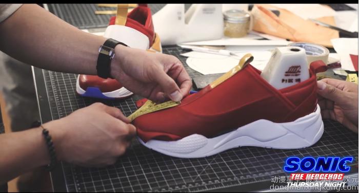 完美还原电影形象 PUMA《刺猬索尼克》主题跑鞋