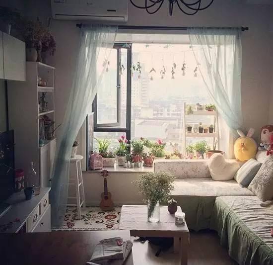 忍不住晒晒新家,头一次见卧室客厅飘窗云云装,太时兴了