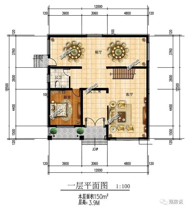 二層新中式別墅,低調典雅的外觀,經典耐看,50年都不過時