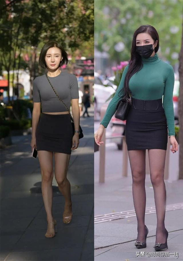 """""""A字裙""""越穿越有样,3个不同风格的搭配,简单显瘦好优雅"""