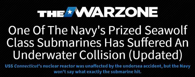 美军史上最贵核潜艇南海撞船 修复需付出多大代价?