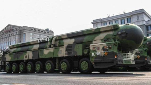 中国可能把澳大利亚看成核打击的潜在目标