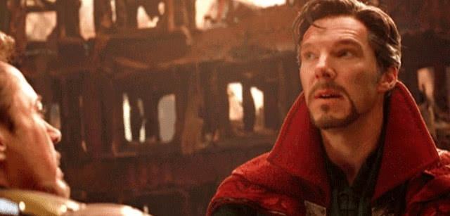 复联4:奇迹博士一个手势,托尼便清亮了统统:我就是钢铁侠!