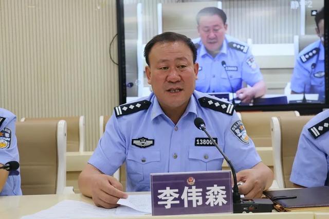 静宁县公安局召开会议专题学习《中华人民共和国公务员法》