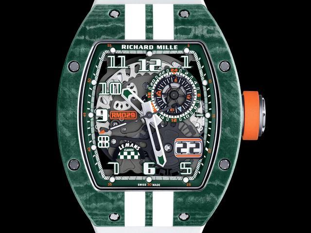 理查德·米勒出新款手表,土豪们准备好了么