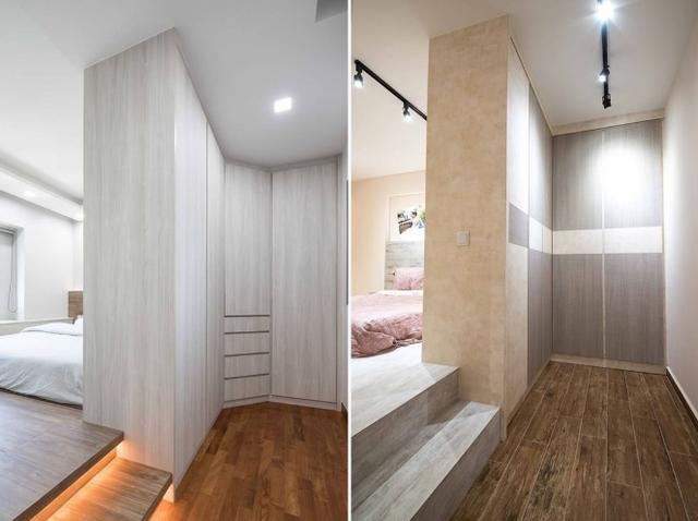 卧室这空间别再铺张了,做上阻隔转瞬众出一功能,集体性更强了
