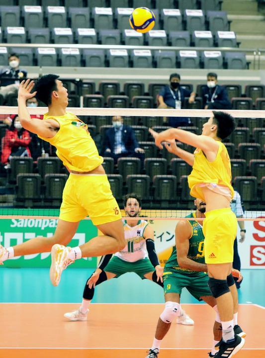 亚洲男排锦标赛中国队遭澳大利亚逆转落败